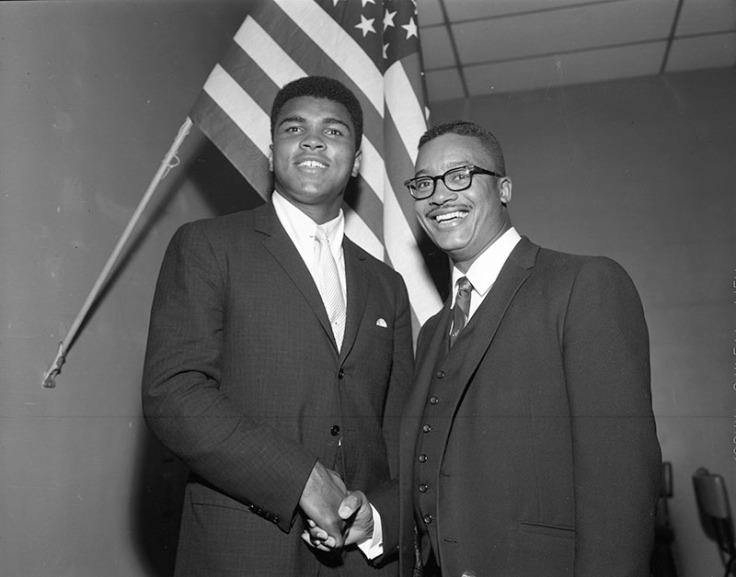 Muhammad Ali and Leon Ralph