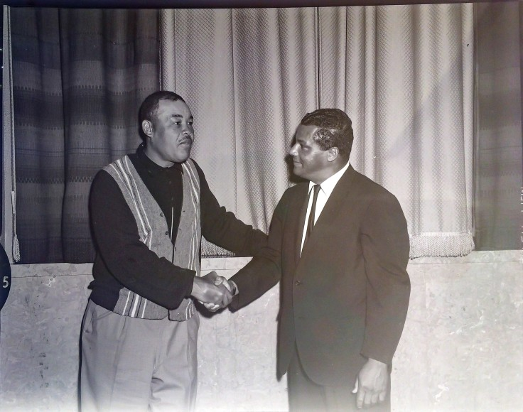 Rolland Curtis meets Joe Louis